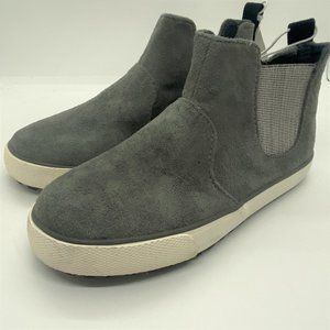 Cat & Jack boys casual slip on shoes-grey-size 11